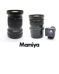 Mamiya 7/7II用レンズ