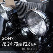 SONY (ソニー)FE 24-70mm F2.8 GMフォトプレビュー