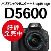 Nikon D5600好評発売中!