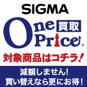 SIGMA ワンプライス買取対象商品はコチラ