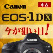 今がねらい目!Canon EOS-1D X
