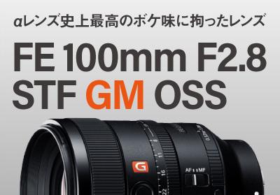SONY (ソニー) FE 100mm F2.8 STF GM OSS SEL100F28GM好評発売中
