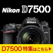 Nikon D7500特集