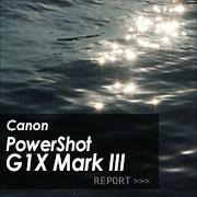 Canon PowerShot G1X Mark III フォトプレビューはこちら
