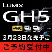 Panasonic LUMIX GH5 ご予約受付中