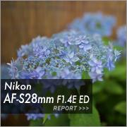 Nikon AF-S 28mm F1.4E ED フォトプレビュー