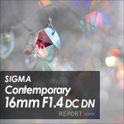 SIGMA Contemporary 16mm F1.4 DC DN フォトプレビュー