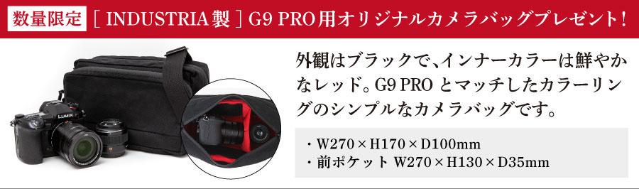 Panasonic LUMIX G9 PRO 数量限定添付施策