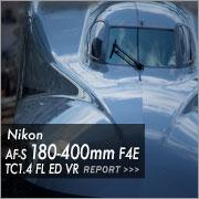 Nikon AF-S NIKKOR 180-400mm F4E TC1.4 FL ED VR フォトプレビュー