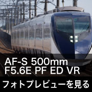 Nikon AF-S NIKKOR 500mm F5.6E PF ED VRフォトプレビュー