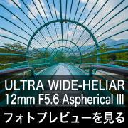 Voigtlander ULTRA WIDE-HELIAR 12mm F5.6 Asph IIIフォトプレビュー