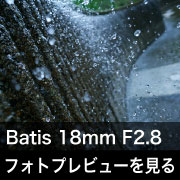Carl Zeiss Batis 18mm F2.8 フォトプレビュー