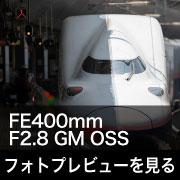 SONY (ソニー) FE400mm F2.8 GM OSS フォトプレビュー