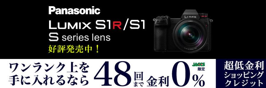 Panasonic Lumix DC1 S1R S1