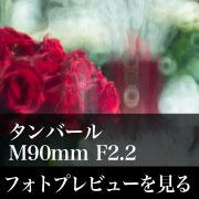 Leica タンバール M90mm F2.2フォトプレビュー