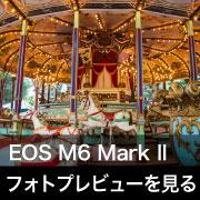 Canon EOS M6 Mark II フォトプレビューはこちら