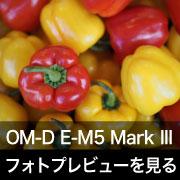 OLYMPUS OM-D E-M5 Mark III フォトプレビュー
