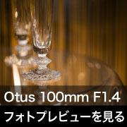 Carl Zeiss (カールツァイス) Otus 100mm F1.4 フォトプレビュー