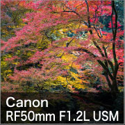 Canon RF50mm F1.2L USM