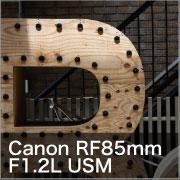 Canon RF85mm F1.2L USM