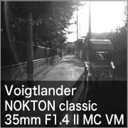 Voigtlander NOKTON classic 35mm F1.4 II VM