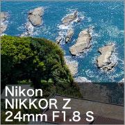 NikonNIKKOR Z 24mm F1.8 S