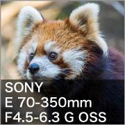 SONY (ソニー) E 70-350mm F4.5-6.3 G OSS