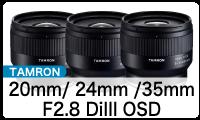 TAMRON (タムロン) 20/24/35mm E-Mount