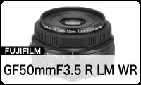 FUJIFILM GF50mmF3.5 R LM WR