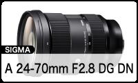 SIGMA (シグマ) Art 24-70mm F2.8 DG DN