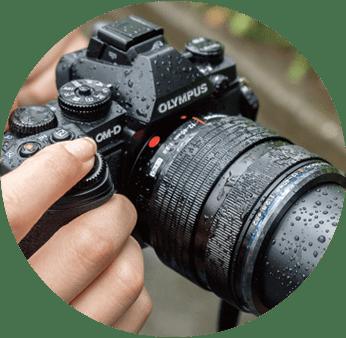 OLYMPUS 防滴防塵カメラ