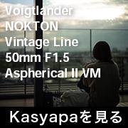 Voigtlander NOKTON Vintage Line 50mm F1.5 Aspherical II VM SC フォトプレビュー