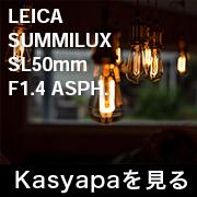 LEICA SUMMILUX SL50mm F1.4 ASPH フォトプレビュー