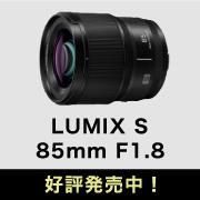 LUMIX S 85mm F1.8