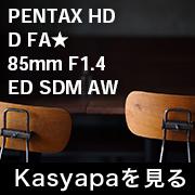 PENTAX HD D FA 85mm F1.4 フォトプレビュー