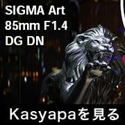 SIGMA Art 85mm F1.4 フォトプレビュー