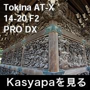 Tokina AT-X 14-20 F2 PRO DX フォトプレビュー