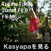 Tokina FiRIN 20mm F2.0 FE MF フォトプレビュー
