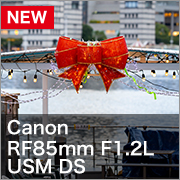 Canon RF85mm F1.2L USM DS