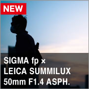SIGMA fp x LEICA SUMMILUX M50mm F1.4 ASPH.