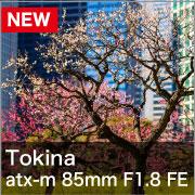 Tokina (トキナー) atx-m 85mm F1.8 FE