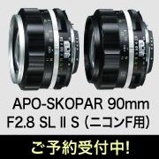 APO-SKOPAR 90mm F2.8 SL II S(ニコンF用)