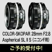 COLOR-SKOPAR 28mm F2.8 Aspherical SL II S (ニコンF用)