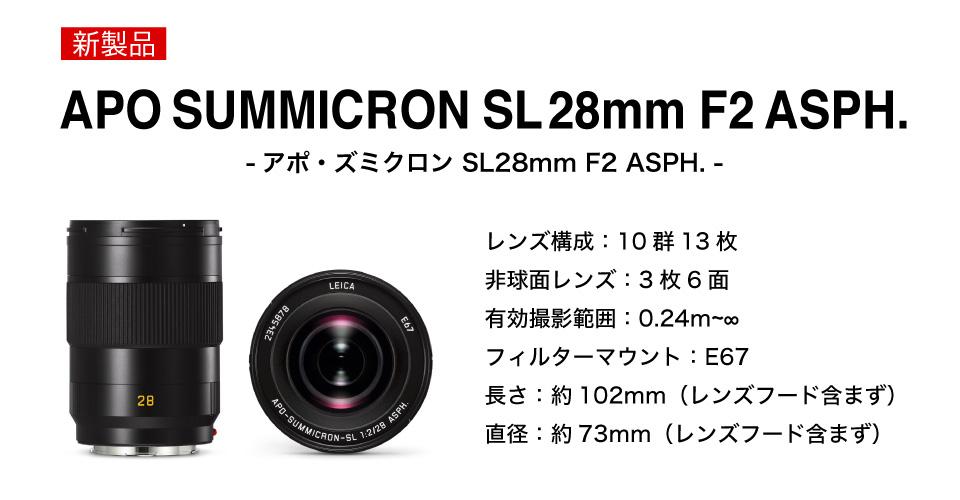 アポズミクロンSL28mm F2 ASPH.