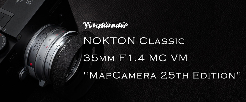 NOKTON Classic 35mm F1.4 MC VM MapCamera 25th Edition