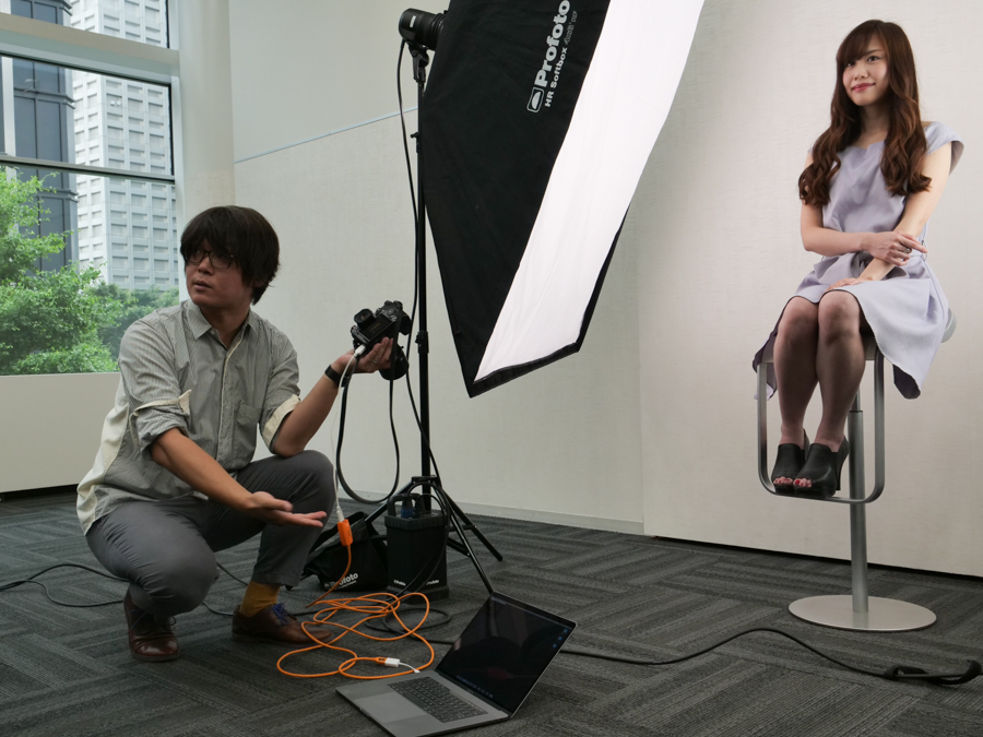 ポートレート撮影編