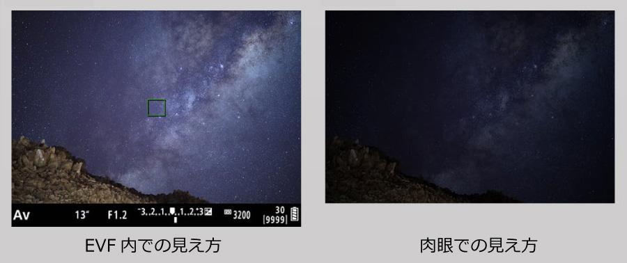 世界初!AF低輝度合焦限界-6EV