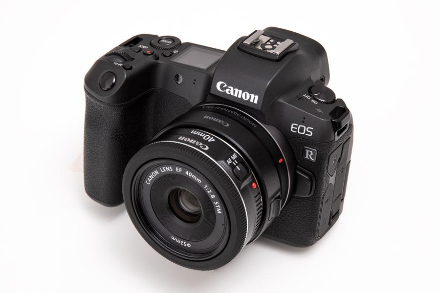 EOS R + EF40mm F2.8L STM