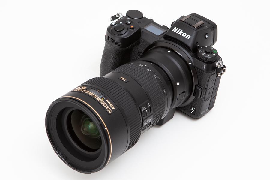 Nikon Z + AF-S 16-35mm F4 G ED VR