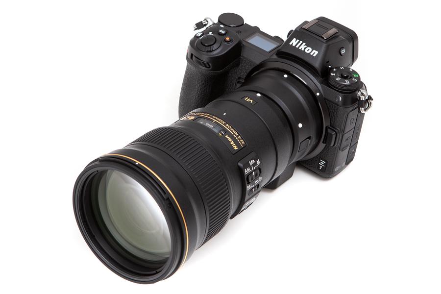 Nikon Z + AF-S 300mm F4E PF ED VR